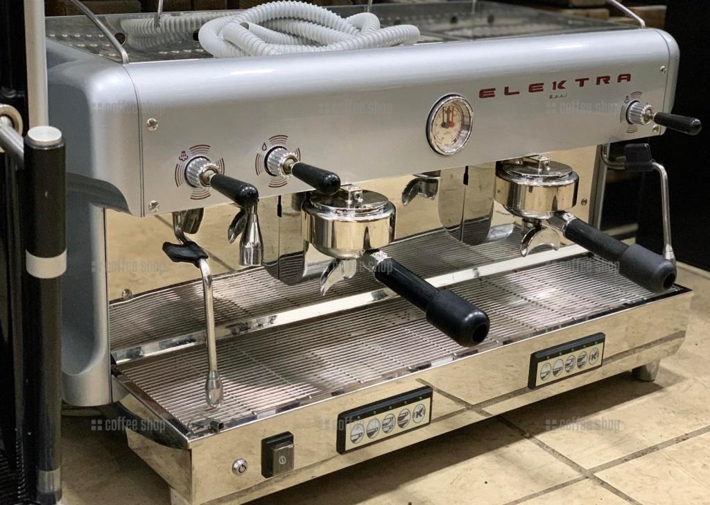 1640 | Кофемашина профессиональная Elektra Maxi T-S б/у | Coffee Shop