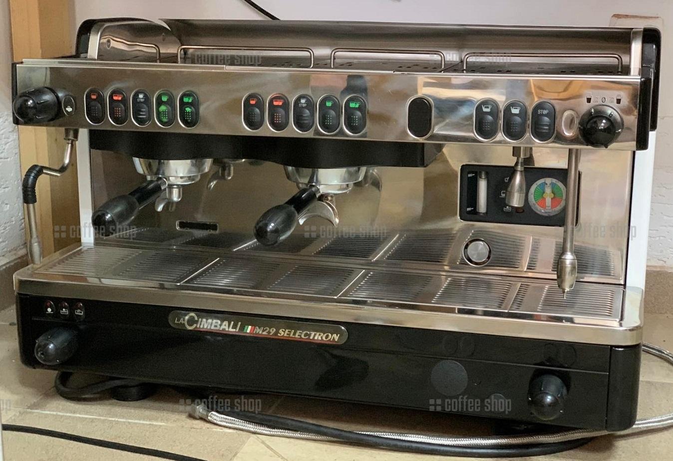 1665 | Кофемашина профессиональная La Cimbali M29 Selectron DT2 б/у | Coffee Shop