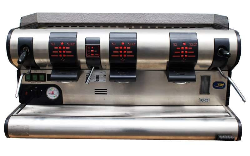 1668 | Кофемашина профессиональная La San Marco 95-22 (3GR) б/у | Coffee Shop