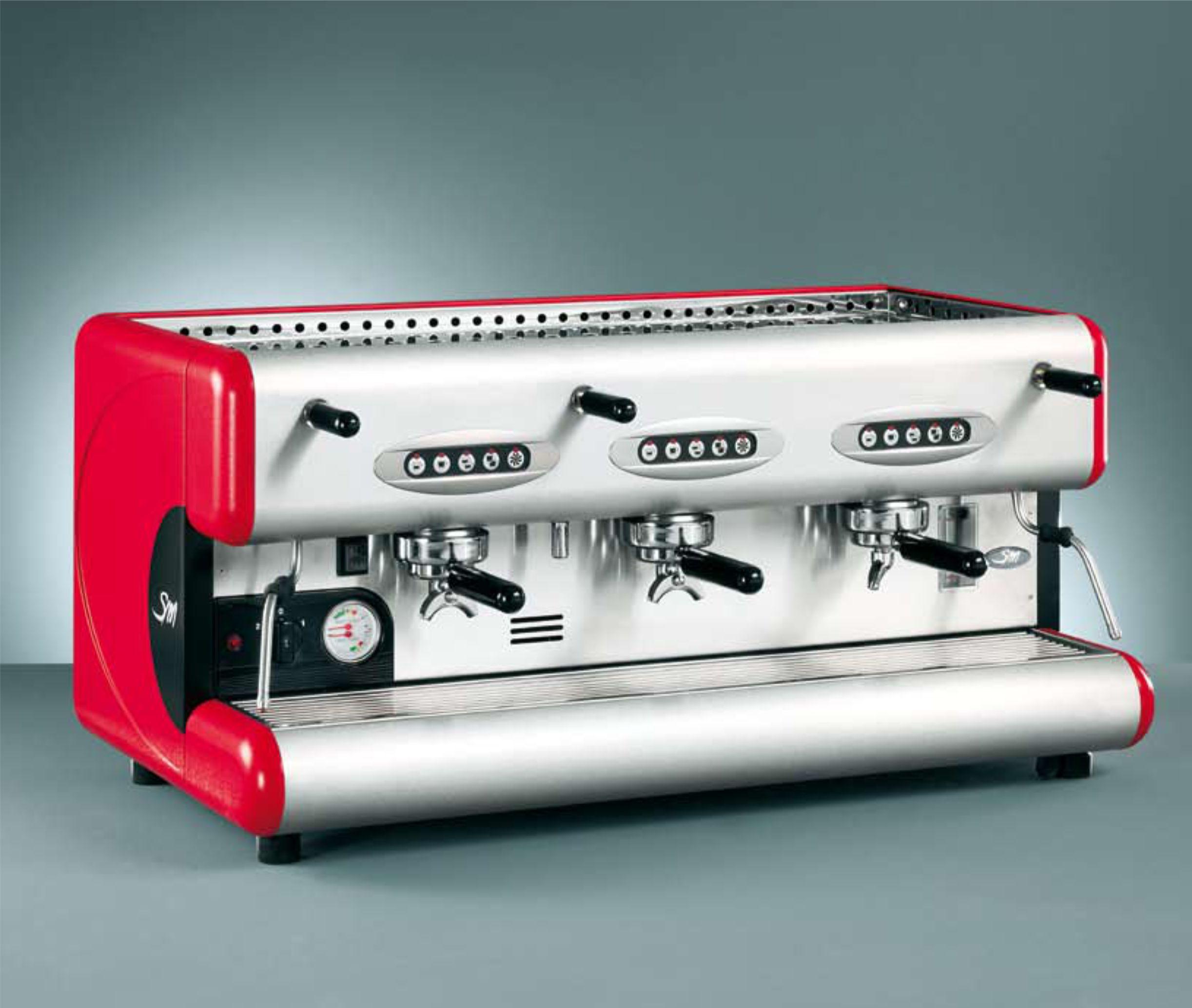 1670 | Кофемашина профессиональная La San Marco 85E (3GR) б/у | Coffee Shop