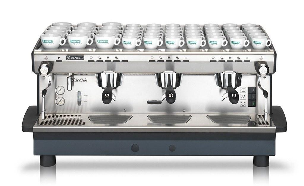 1685   Кофемашина профессиональная Rancilio Classe 6 E Auto (3GR) б/у   Coffee Shop
