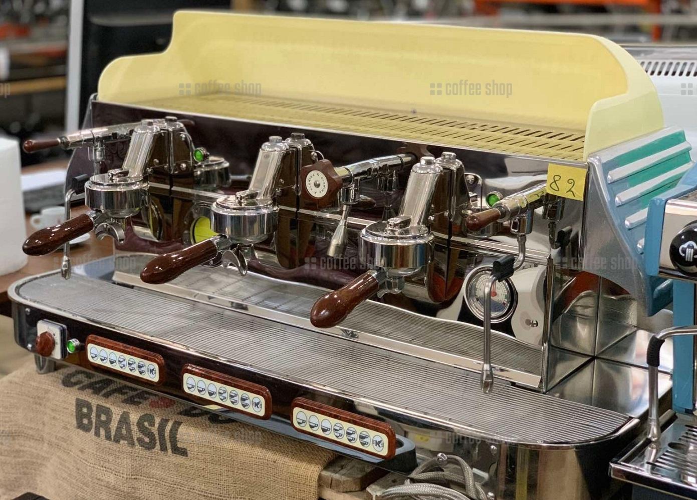 1694 | Кофемашина профессиональная Elektra Classic Barlume Z1C 3GR б/у | Coffee Shop