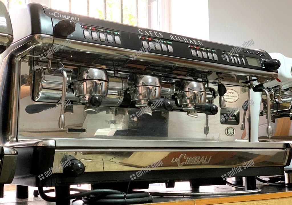 1693 | Кофемашина профессиональная La Cimbali M39 TE Dosatron Turbosteam DT3 б/у | Coffee Shop