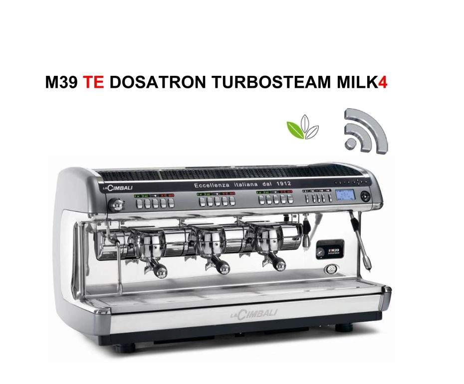 1737 | Кофемашина профессиональная La Cimbali M39 TE Dosatron Turbosteam Milk4 DT/3 | Coffee Shop