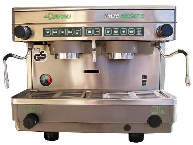 1699 | Кофемашина профессиональная La Cimbali M30 Bistro 2 DT/2 б/у газовая | Coffee Shop