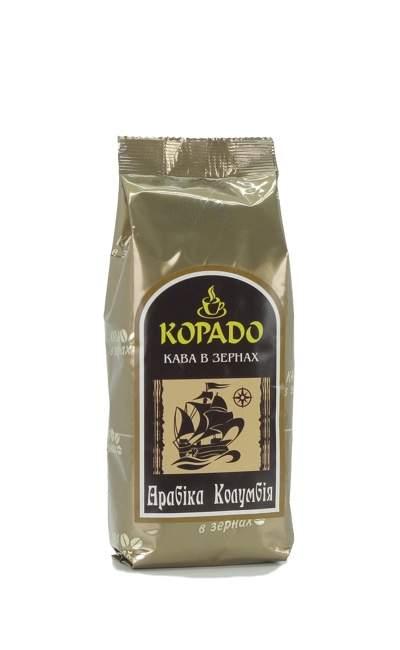 1902 | Кофе Корадо Арабика Колумбия в зёрнах 250 г | Coffee Shop