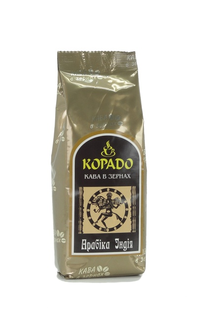1904 | Кофе Корадо Арабика Индия в зёрнах 250 г | Coffee Shop