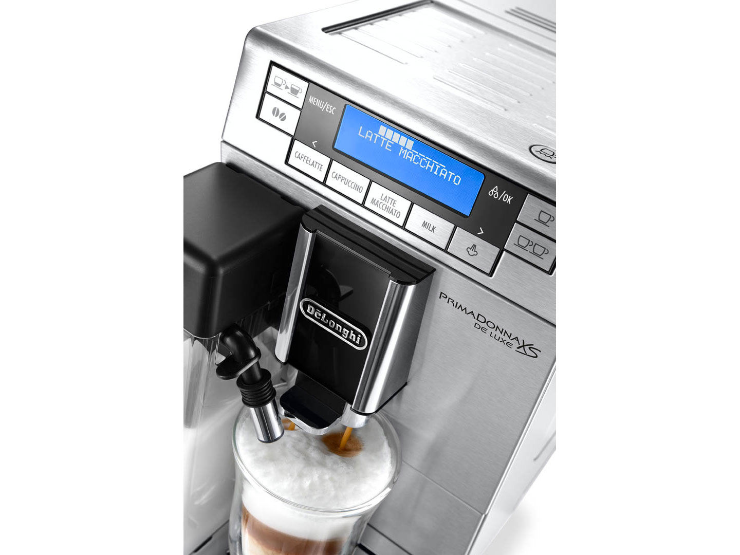 D0132215165 | Автоматическая кофемашина DeLonghi PrimaDonna XS ETAM 36.364.M | Coffee Shop