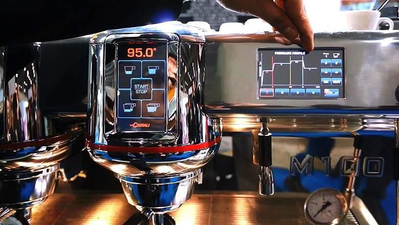 1740 | Кофемашина профессиональная La Cimbali M100 HD DT2 | Coffee Shop