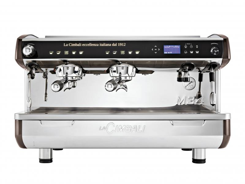 1744 | Кофемашина профессиональная La Cimbali M34 Selectron TurboSteam Milk4 DT/2 | Coffee Shop