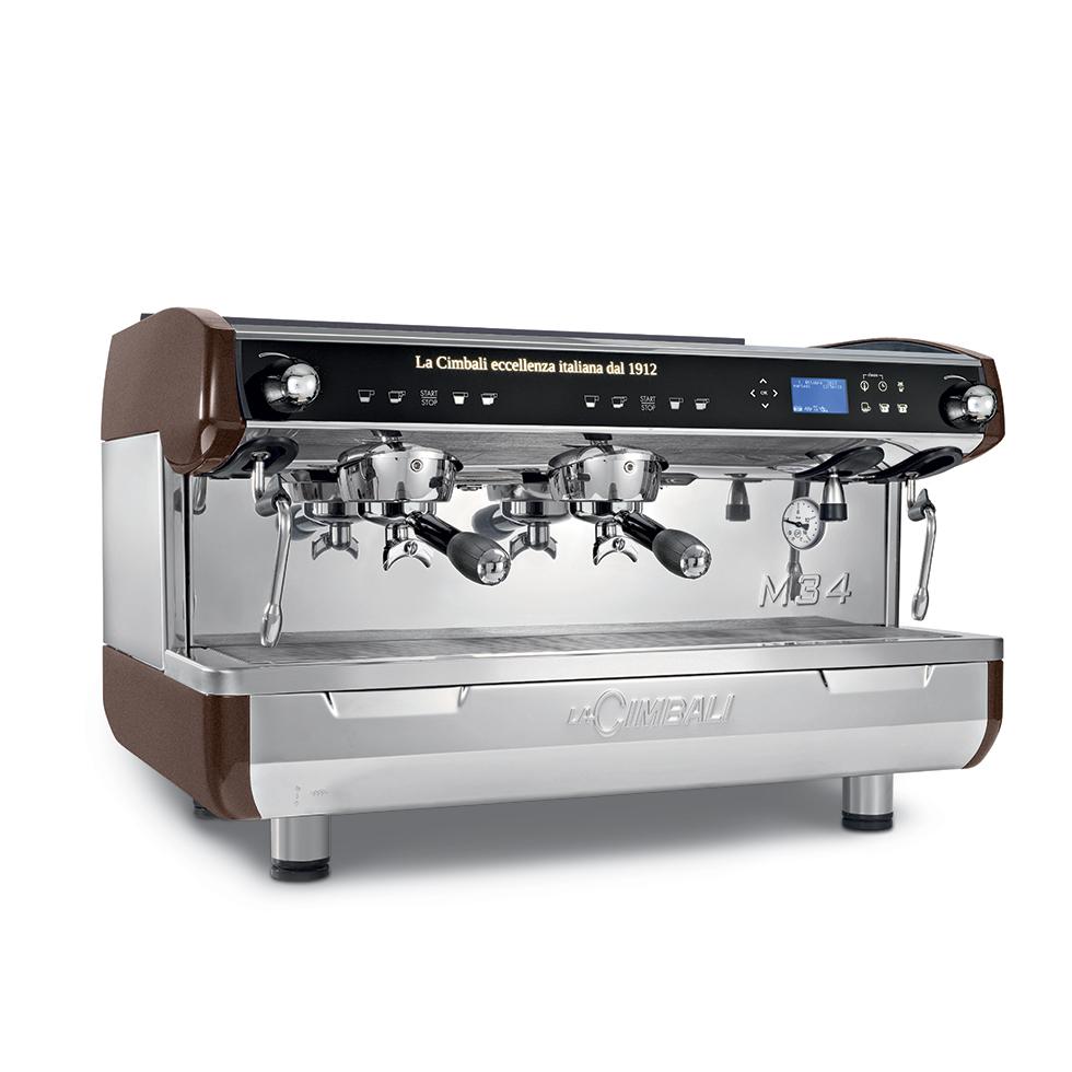 1746 | Кофемашина профессиональная La Cimbali M34 Selectron DT/2 | Coffee Shop