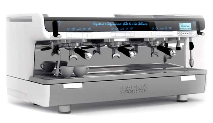 1754 | Кофемашина профессиональная Faema Teorema A Auto Steam Milk4 A/3 | Coffee Shop