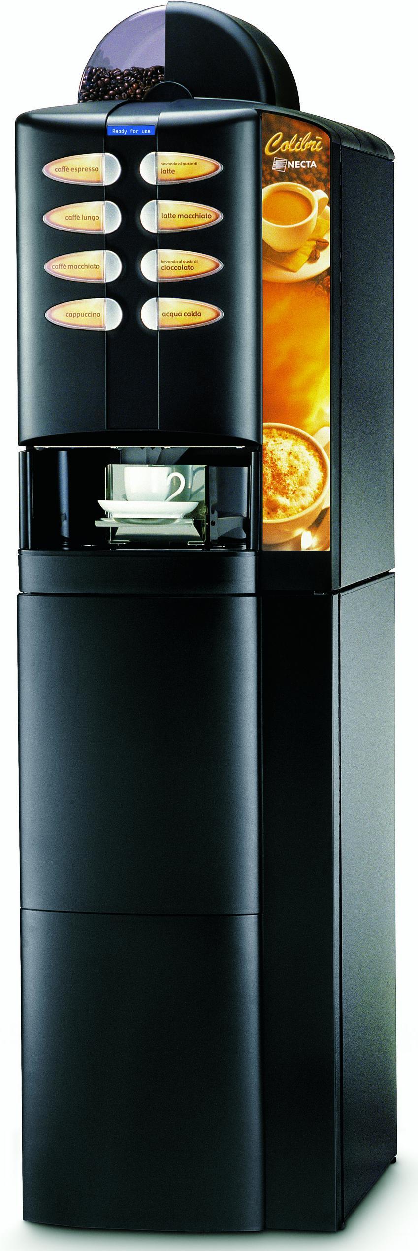 16131 | Кофемашина вендинговая Necta Colibri ES 3 + тумба б/у | Coffee Shop