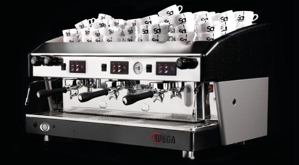 16146 | Кофемашина профессиональная Wega Atlas A/3 б/у | Coffee Shop