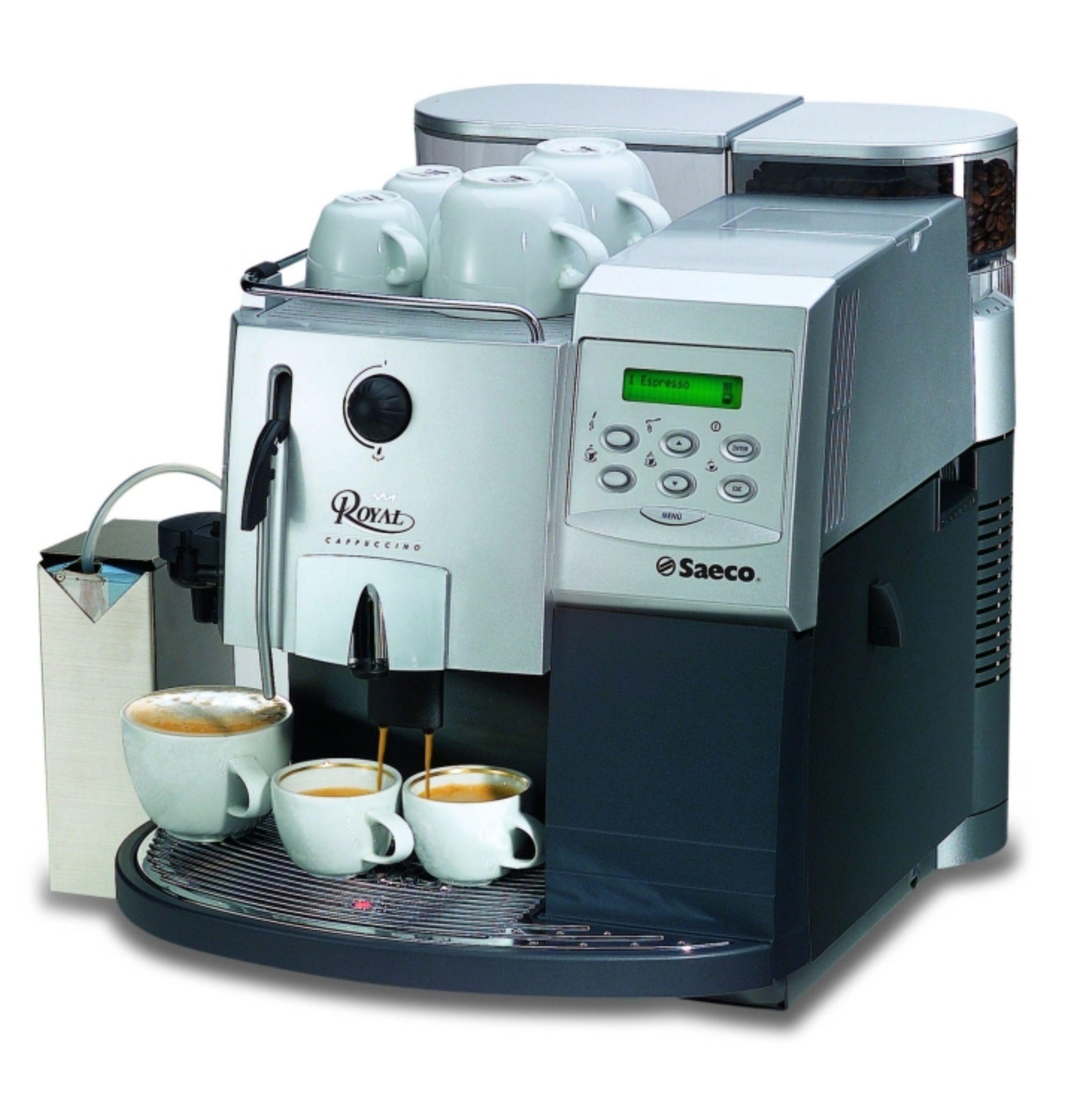 16151 | Кофеварка автоматическая Saeco Royal Cappuccino б/у | Coffee Shop
