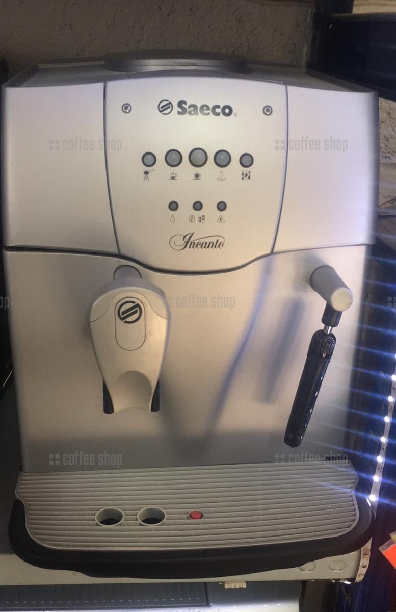 16195   Кофеварка автоматическая Saeco Incanto б/у   Coffee Shop