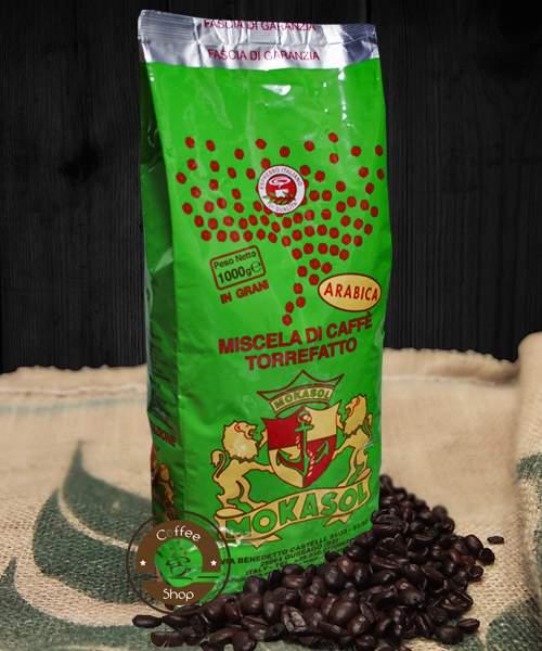 1915 | Кофе в зёрнах Mokasol Arabica Espresso 1 кг | Coffee Shop