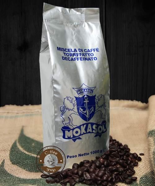 1917 | Кофе в зёрнах Mokasol Decaffeinato без кофеина 1 кг | Coffee Shop