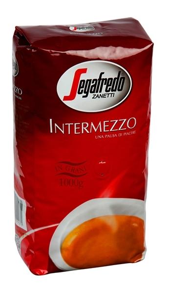 Кофе Segafredo Intermezzo в зернах 1 кг