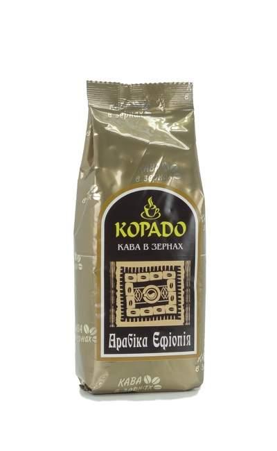 Кофе Корадо Арабика Эфиопия в зернах 250 г