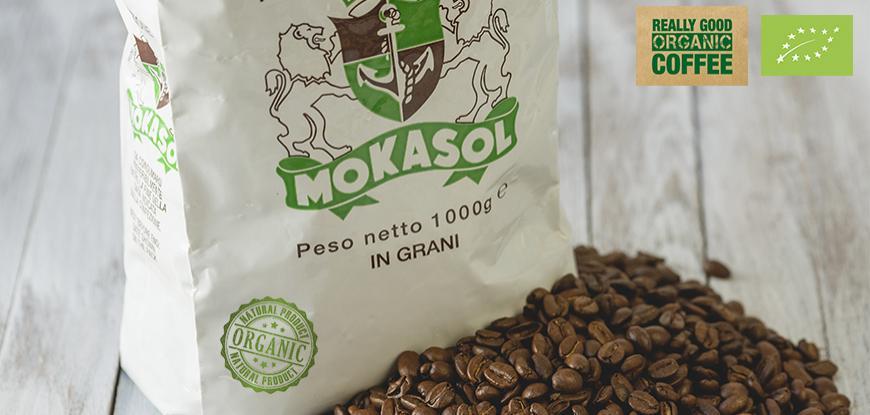 Кофе в зернах Mokasol BIO Organic