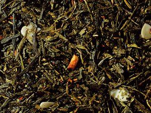 Зеленый чай SENCHA Корица с Миндалем